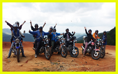 01 day motorbike tour to Dalat countryside